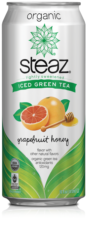 Healthy Office Drinks, Steaz Grapefruit Honey Green Tea