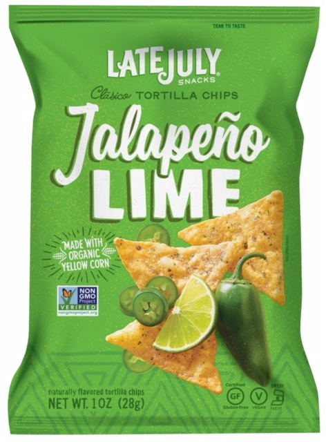 Healthy Office Snacks, Late July - Jalapeno Lime