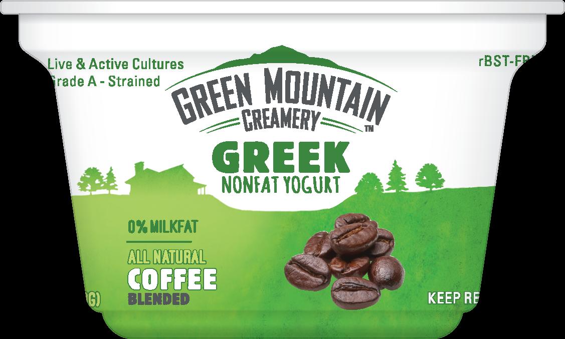 Healthy Office Snacks, Green Mountain Creamery - Coffee Greek Yogurt