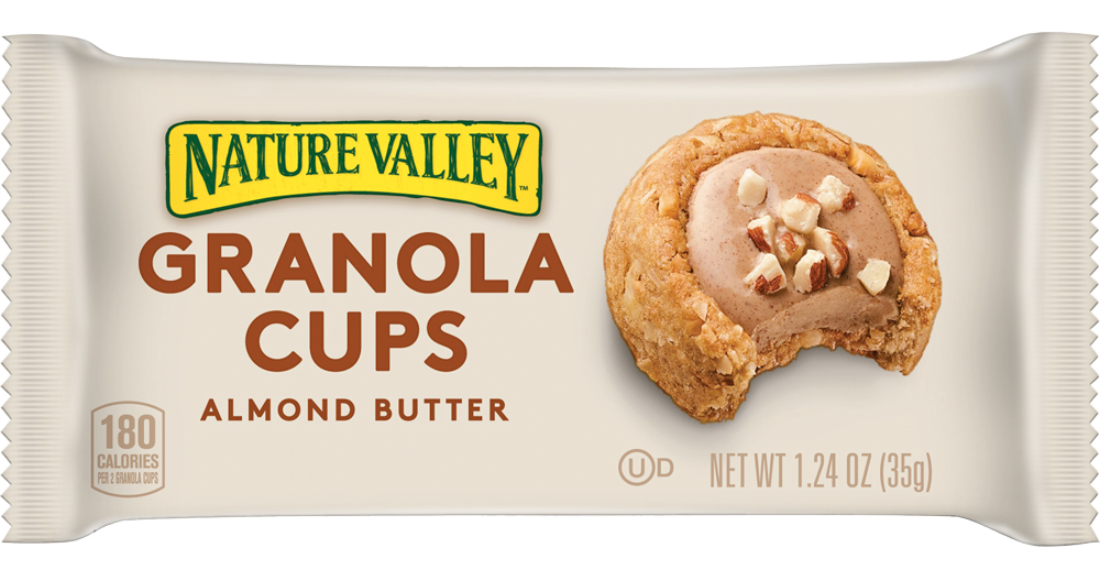 Healthy Office Snacks, Nature Valley Granola Cups