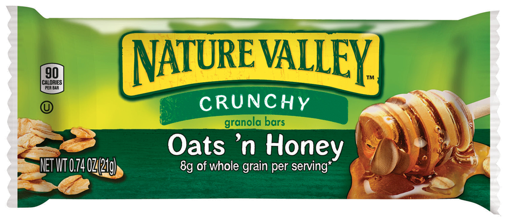 Healthy Office Snacks, Nature Valley Oats 'n Honey