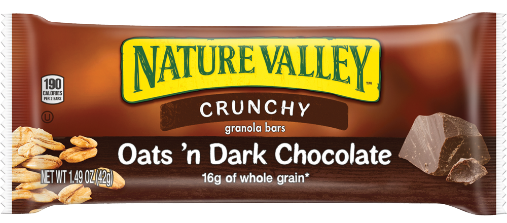 Healthy Office Snacks, Nature Valley Oats n Dark Chocolate