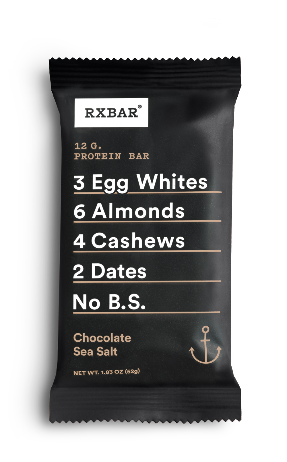 Healthy Office Snacks, RXBAR Chocolate Sea Salt
