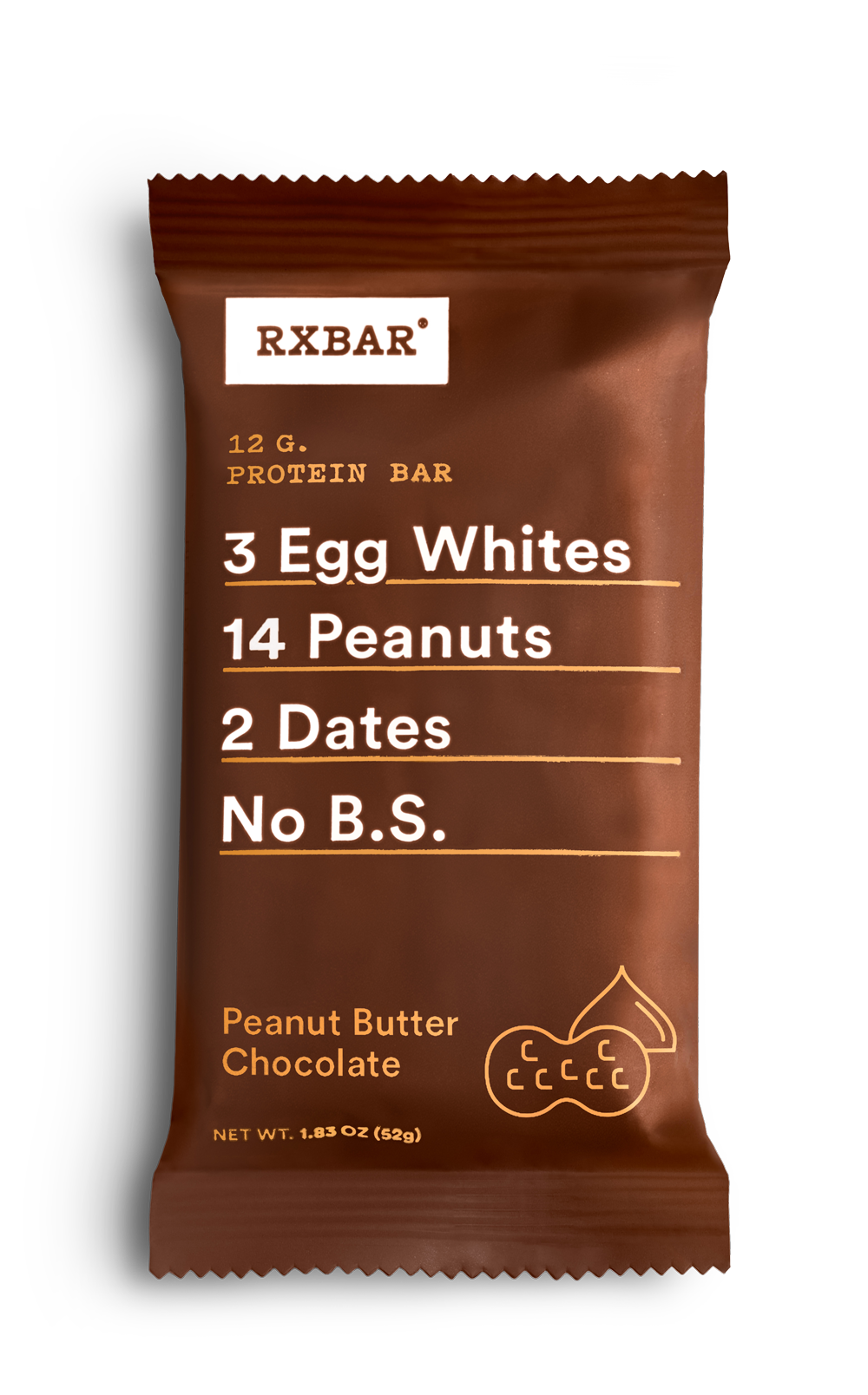 Healthy Office Snacks, RXBAR Peanut Butter Chocolate