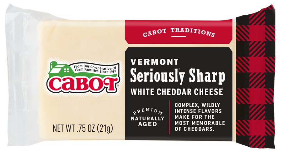 Healthy Office Snacks, Cabot Seriously Sharp White Cheddar