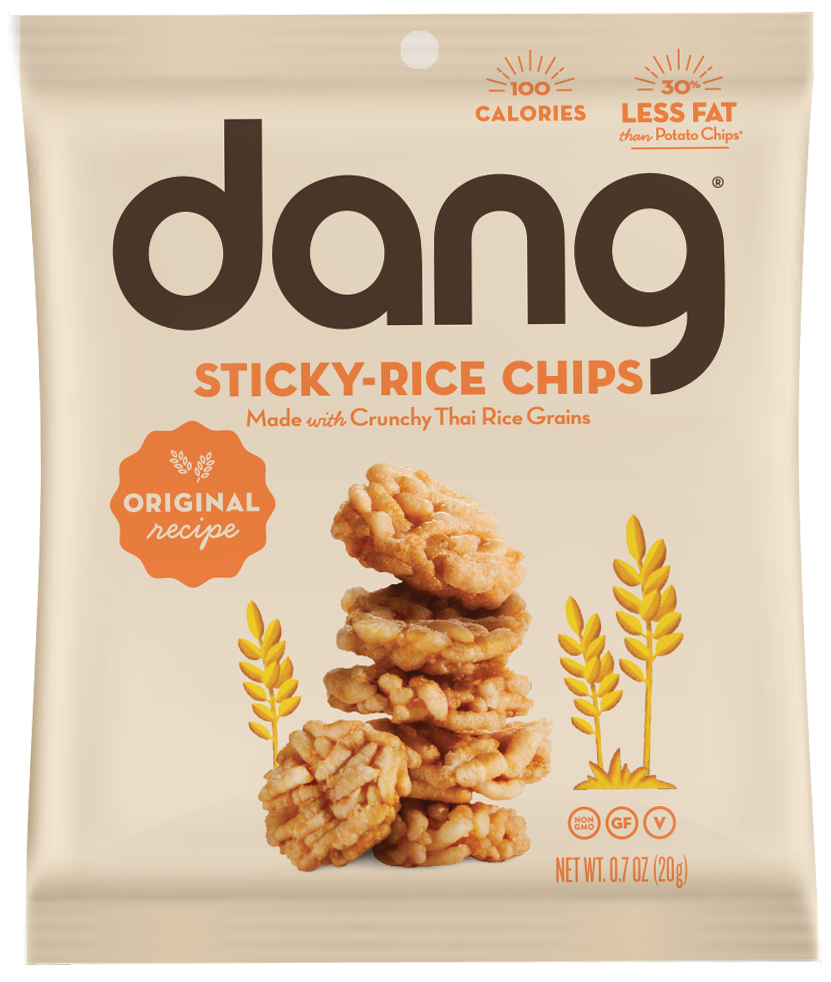 Healthy Office Snacks, Dang Sticky Rice Chips