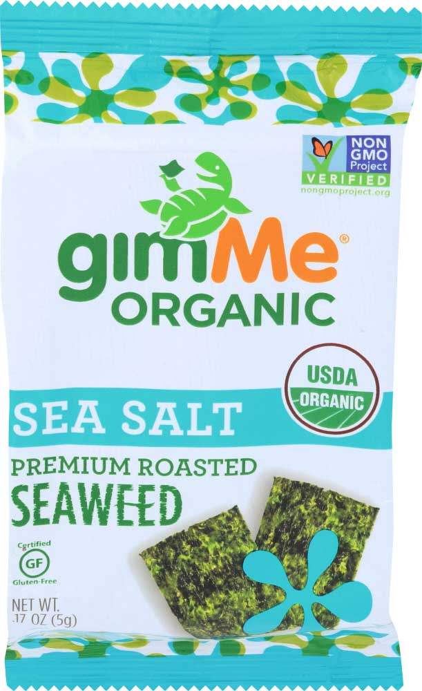 Healthy Office Snacks, Gimme Organic Seaweed