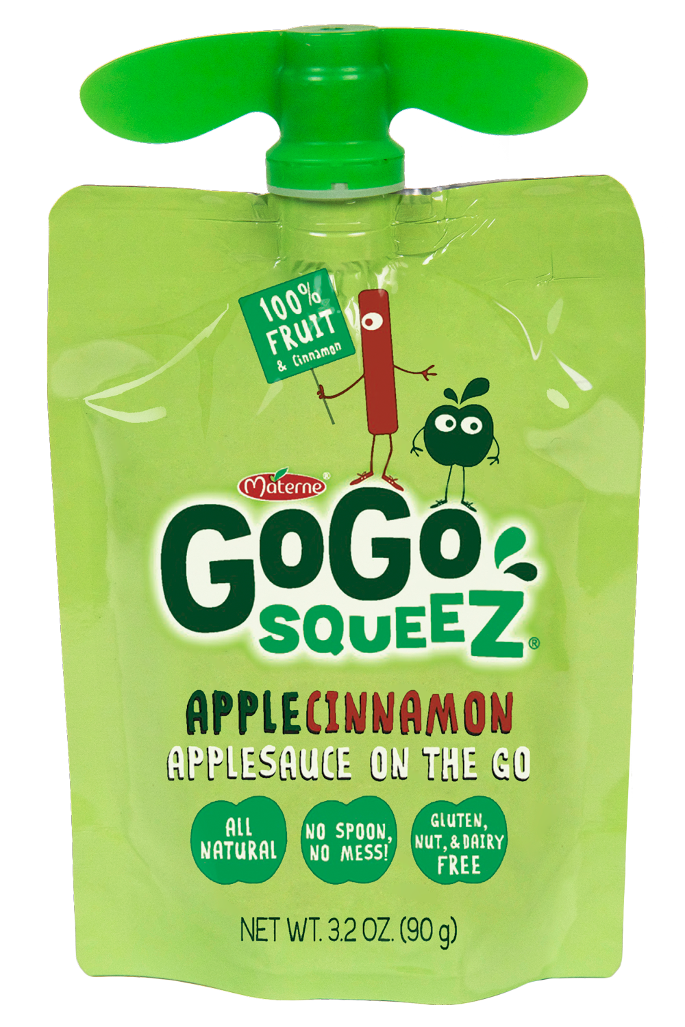 Healthy Office Snacks, GoGo Squeeze apple cinnamon apple sauce