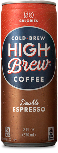 Healthy Office Drinks, High Brew Cold Brew