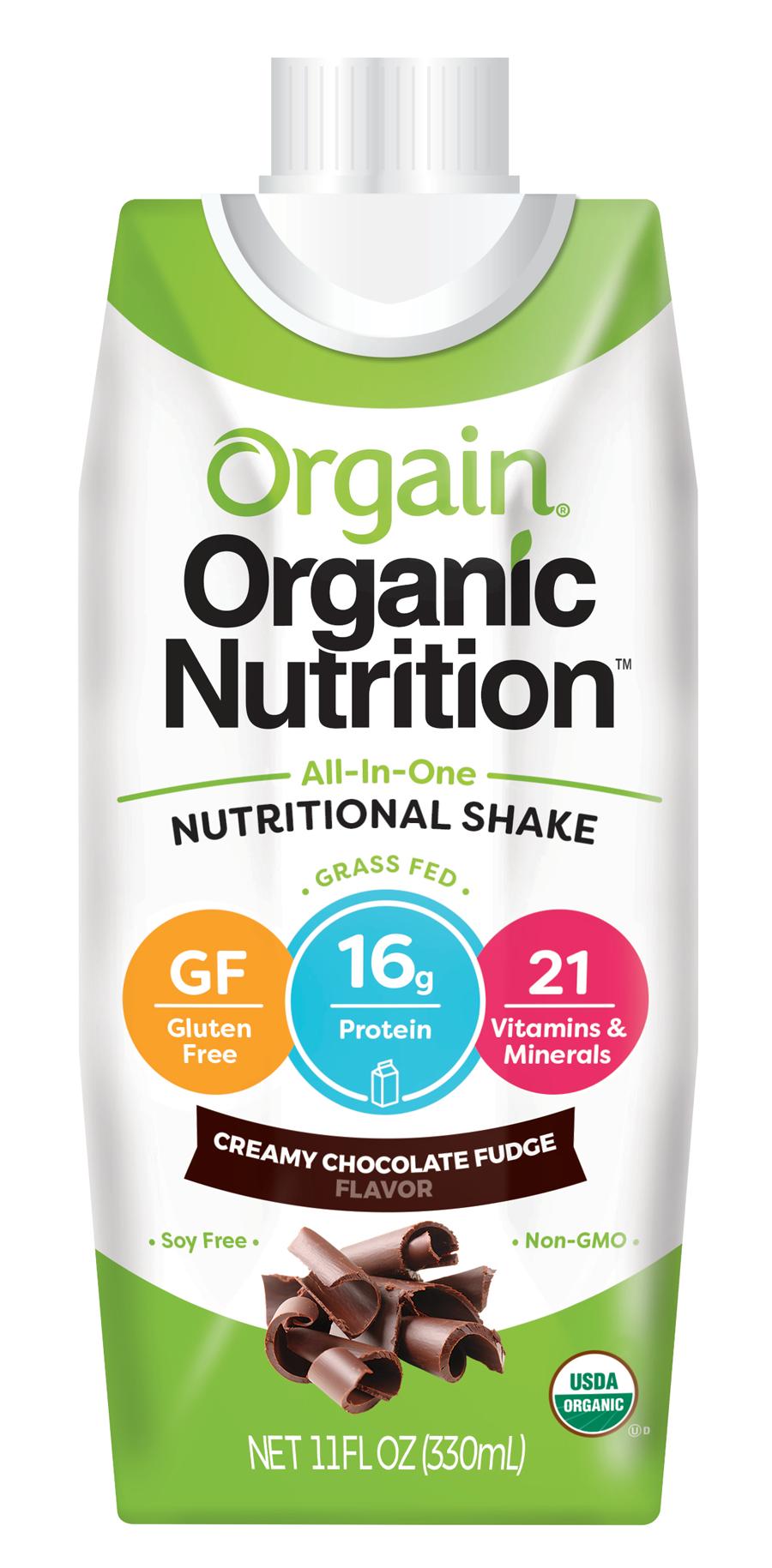 Healthy Office Drinks, Orgain Nutritional Shake