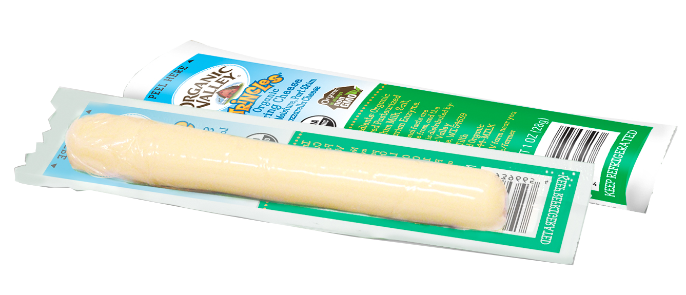 Healthy Office Snacks, Organic Valley String Cheese