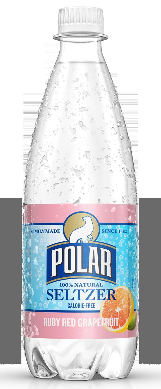 Healthy Office Drinks, Polar Seltzer Grapefruit