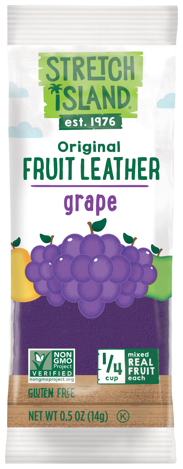 Healthy Office Snacks, Stretch Island Fruit Leather Grape