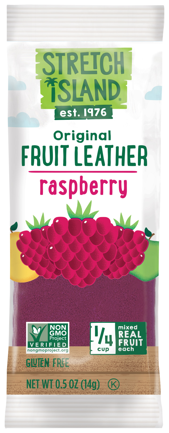 Healthy Office Snacks, Stretch Island Fruit Leather – Raspberry