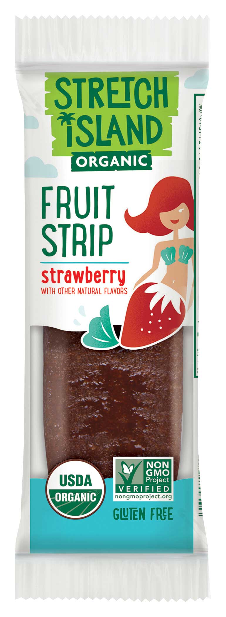 Healthy Office Snacks, Stretch Island Fruit Leather – Strawberry