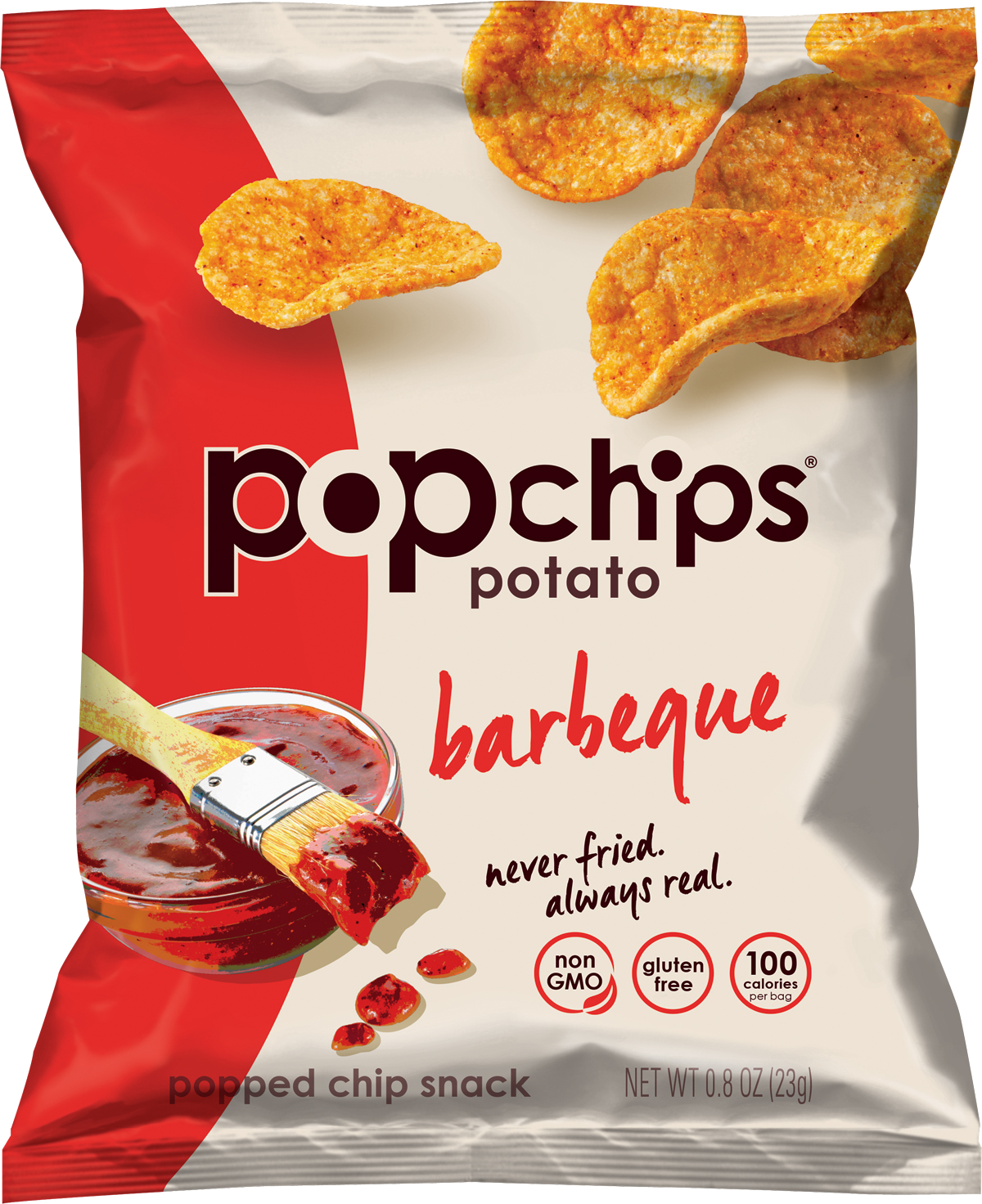 Healthy Office Snacks, Popchips Barbecue
